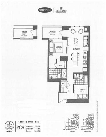 Condo Apartment at 2167 Lakeshore Blvd W, Unit 407, Toronto, Ontario. Image 3