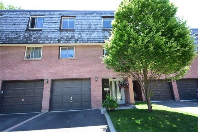Condo Townhouse at 2145 Sherobee Rd, Unit 101, Mississauga, Ontario. Image 1