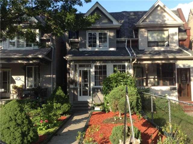 Semi-detached at 31 Britannia Ave, Toronto, Ontario. Image 1