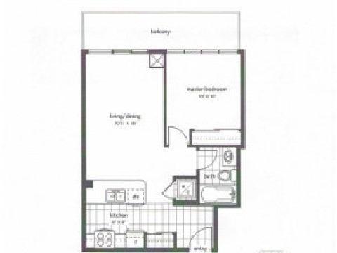 Condo Apartment at 4070 Confederation Pkwy, Unit 4001, Mississauga, Ontario. Image 10