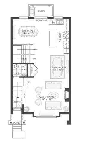 Townhouse at 2295 Khalsa Gate, Unit 5, Oakville, Ontario. Image 3