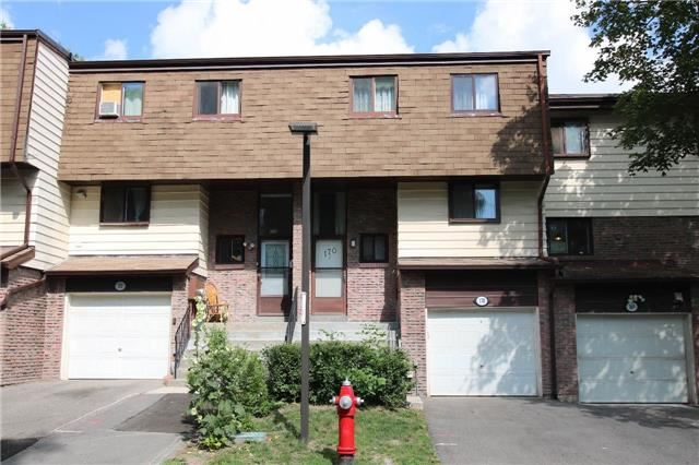 Condo Townhouse at 180 Mississauga Valley Blvd, Unit 170, Mississauga, Ontario. Image 1