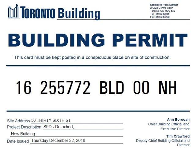 Detached at 48 Thirty Sixth St, Toronto, Ontario. Image 2