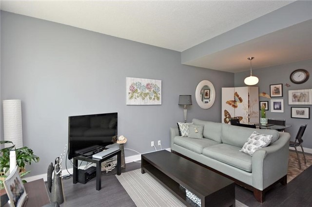 Condo Townhouse at 90 Absolute Ave, Unit 111, Mississauga, Ontario. Image 14