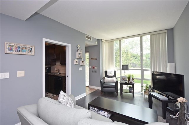 Condo Townhouse at 90 Absolute Ave, Unit 111, Mississauga, Ontario. Image 17