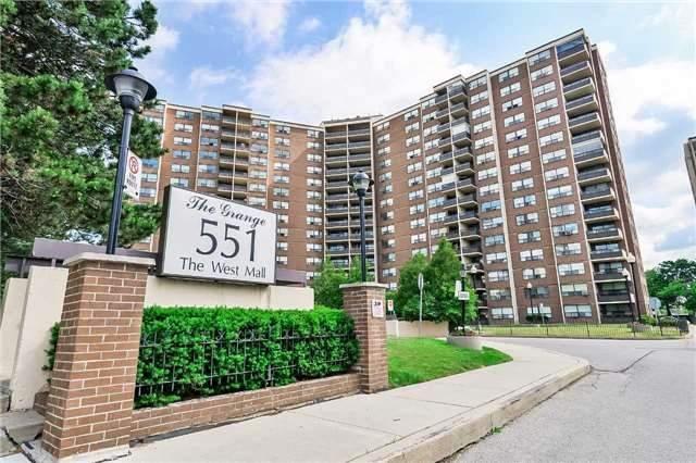 Condo Apartment at 551 The West Mall, Unit 1008, Toronto, Ontario. Image 1