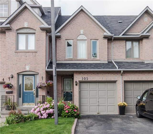 Condo Townhouse at 1292 Sherwood Mills Blvd E, Unit 105, Mississauga, Ontario. Image 1