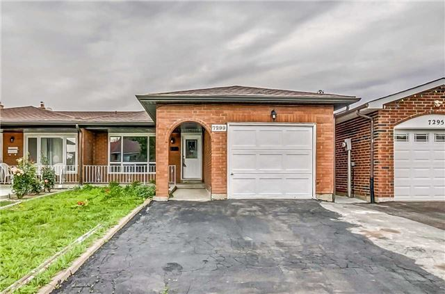 Semi-detached at 7299 Sigsbee Dr, Mississauga, Ontario. Image 1