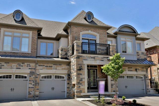 Townhouse at 2474 Thornfield Common, Oakville, Ontario. Image 1