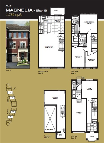 Townhouse at 9 Autumnwood Ave, Brampton, Ontario. Image 3
