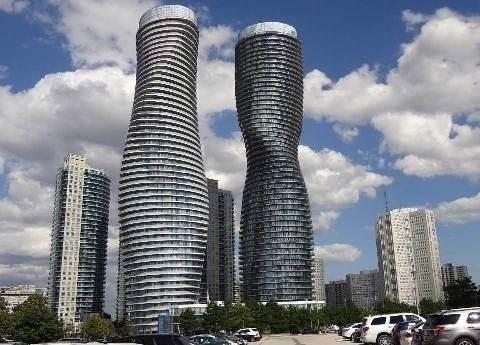 Condo Apartment at 60 Absolute Ave, Unit 802, Mississauga, Ontario. Image 1