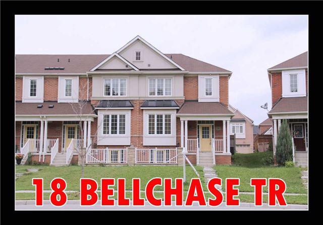 Townhouse at 18 Bellchase Tr, Brampton, Ontario. Image 1