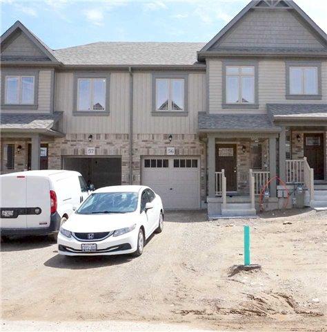 Townhouse at 124 Parkinson Cres, Unit 56, Orangeville, Ontario. Image 1