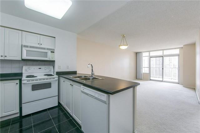 Condo Apartment at 35 Kingsbridge Garden Circ, Unit 1202, Mississauga, Ontario. Image 1