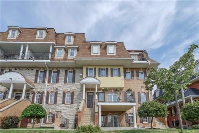 Condo Townhouse at 70 Sidney Belsey Cres, Unit 203, Toronto, Ontario. Image 1