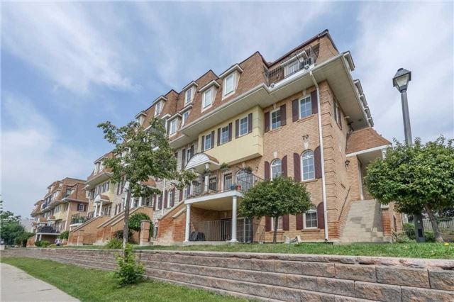Condo Townhouse at 70 Sidney Belsey Cres, Unit 203, Toronto, Ontario. Image 13