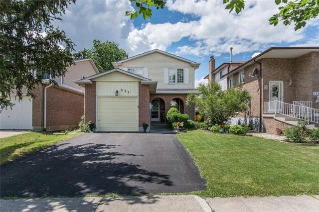 Detached at 531 Beaver Crt, Milton, Ontario. Image 1