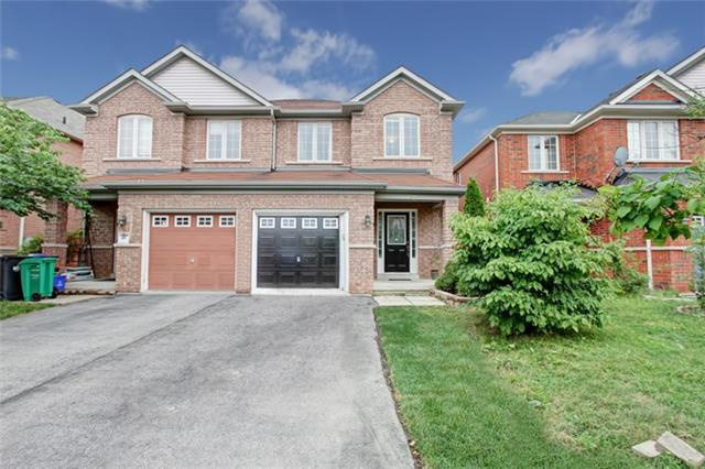 Semi-detached at 3984 Skyview St, Mississauga, Ontario. Image 1