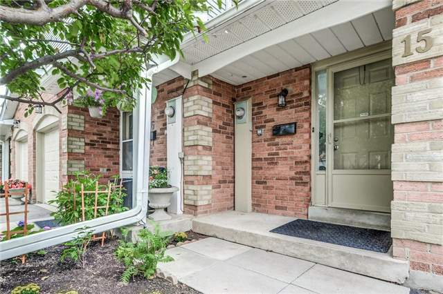 Condo Townhouse at 1176 Kelsey Crt, Unit 15, Oakville, Ontario. Image 12