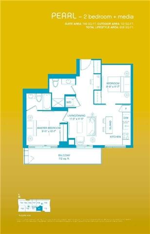 Condo Apartment at 33 Shore Breeze Dr, Unit 2511, Toronto, Ontario. Image 2