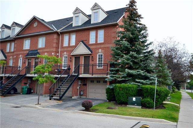 Condo Townhouse at 3895 Doug Leavens Blvd, Unit 36, Mississauga, Ontario. Image 4