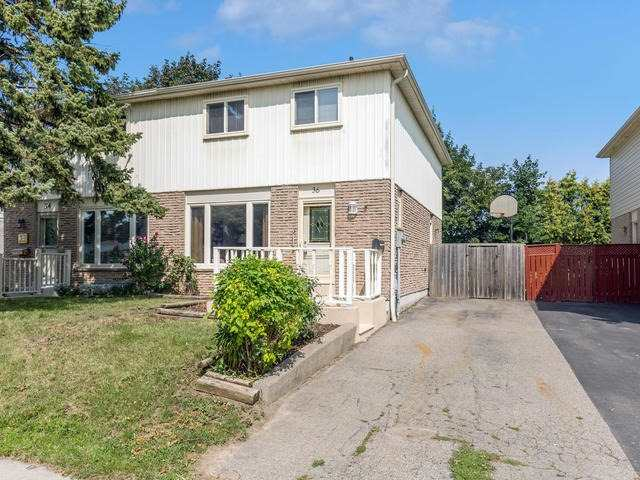 Semi-detached at 36 Lauderdale Rd, Brampton, Ontario. Image 1