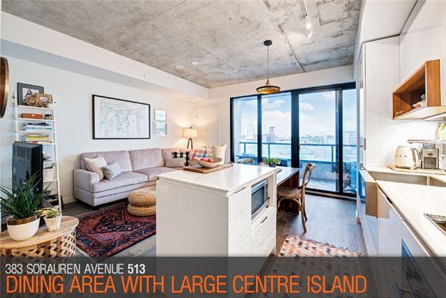Condo Apartment at 383 Sorauren Ave, Unit 513, Toronto, Ontario. Image 11
