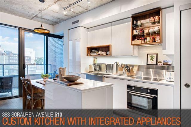Condo Apartment at 383 Sorauren Ave, Unit 513, Toronto, Ontario. Image 13