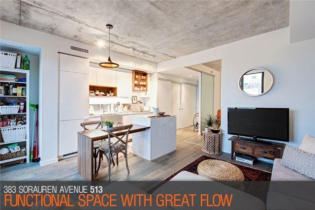 Condo Apartment at 383 Sorauren Ave, Unit 513, Toronto, Ontario. Image 14