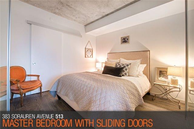 Condo Apartment at 383 Sorauren Ave, Unit 513, Toronto, Ontario. Image 2