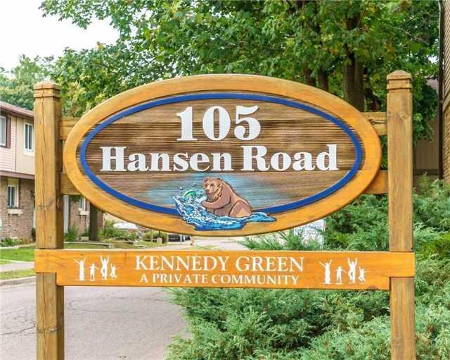 Condo Townhouse at 105 Hansen Rd N, Unit 106, Brampton, Ontario. Image 1