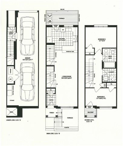 Townhouse at Blk 2 Westway, Unit 10, Toronto, Ontario. Image 2