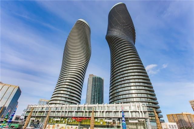 Condo Apartment at 60 Absolute Ave, Unit 602, Mississauga, Ontario. Image 1