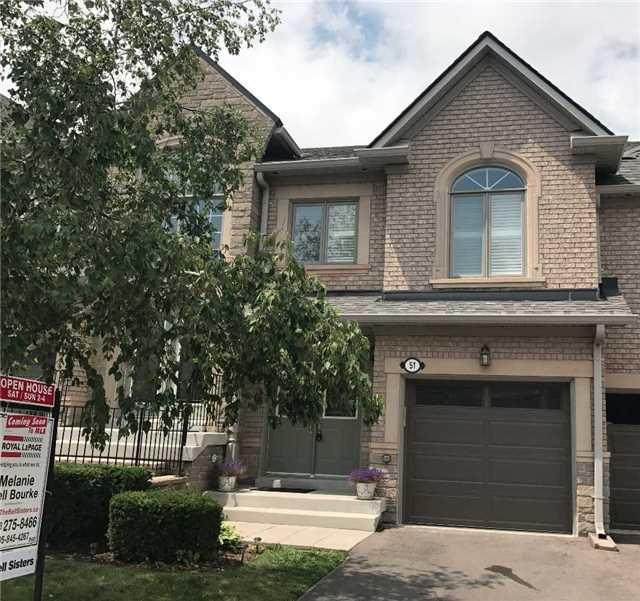 Condo Townhouse at 2250 Rockingham Dr, Unit 51, Oakville, Ontario. Image 1