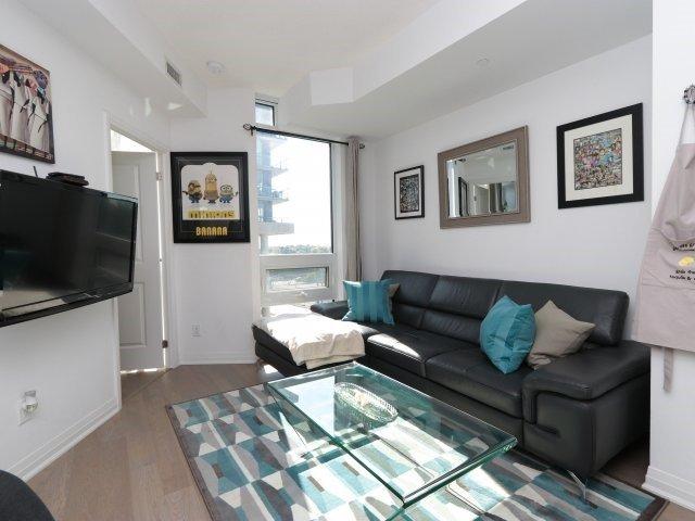 Condo Apartment at 60 Annie Craig Dr, Unit B313, Toronto, Ontario. Image 2