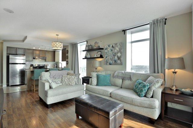 Condo Apartment at 9 George St N, Unit 1405, Brampton, Ontario. Image 14
