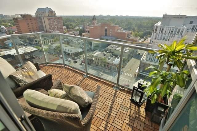 Condo Apartment at 9 George St N, Unit 1405, Brampton, Ontario. Image 5