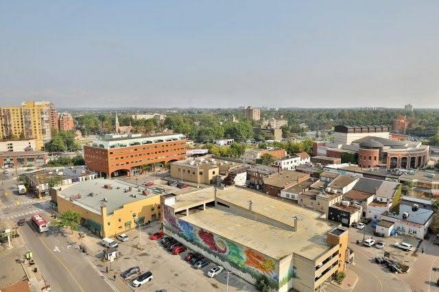 Condo Apartment at 9 George St N, Unit 1405, Brampton, Ontario. Image 7