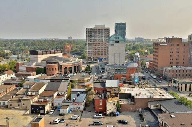 Condo Apartment at 9 George St N, Unit 1405, Brampton, Ontario. Image 10