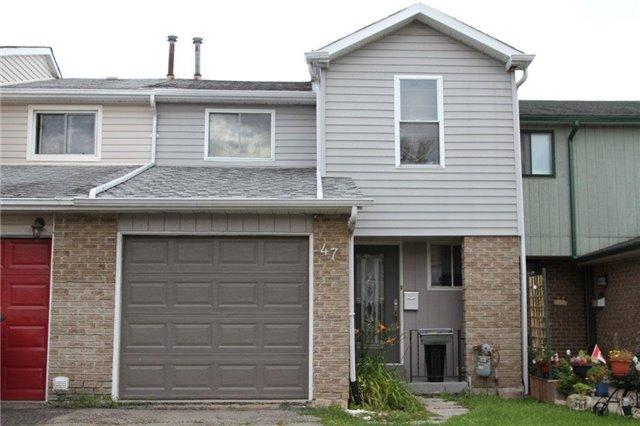 Townhouse at 47 Gilmore Dr, Brampton, Ontario. Image 1