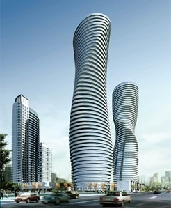 Condo With Common Elements at 50 Absolute Ave, Unit 4403, Mississauga, Ontario. Image 1