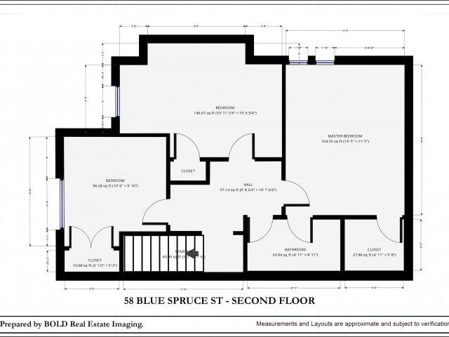 Townhouse at 58 Blue Spruce St, Brampton, Ontario. Image 13