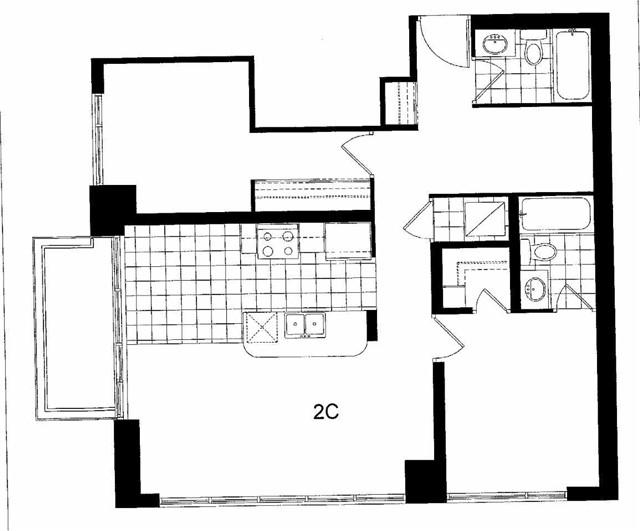 Condo Apartment at 348 Rathburn Road West Rd, Unit 1115, Mississauga, Ontario. Image 2