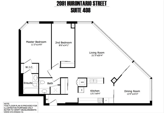 Condo Apartment at 2091 Hurontario St, Unit 408, Mississauga, Ontario. Image 13