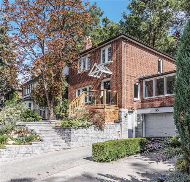 Detached at 33 Riverview Gdns, Toronto, Ontario. Image 1