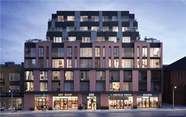 Condo Apartment at 312-430 Roncesvalles Ave, Toronto, Ontario. Image 1