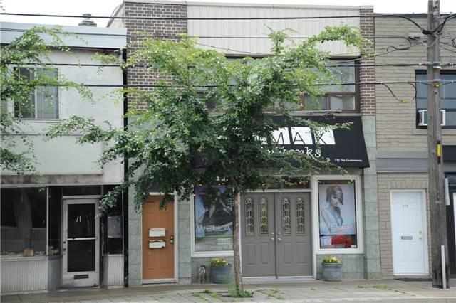 Store With Apartment/Office at 713 The Queensway Ave, Toronto, Ontario. Image 12