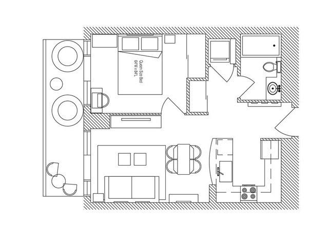 Condo Apartment at 5 Michael Power Pl, Unit 1605, Toronto, Ontario. Image 11