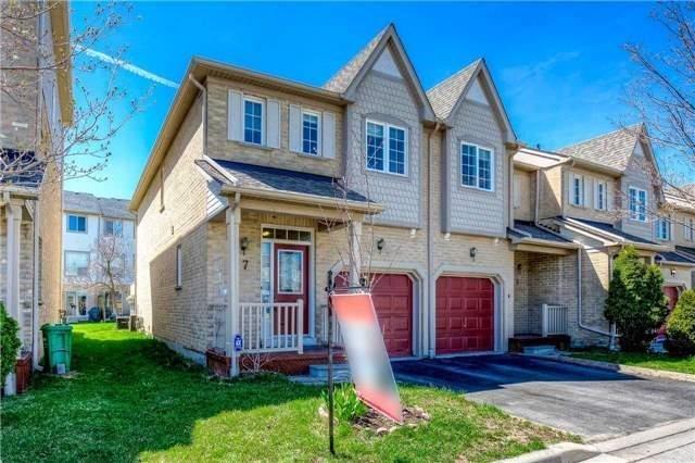 Condo Townhouse at 7284 Bellshire Gate, Unit 7, Mississauga, Ontario. Image 1