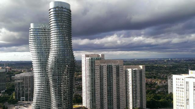 Condo Apartment at 60 Absolute Ave, Unit 3402, Mississauga, Ontario. Image 1